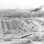 Wizualizacja fabryki Thoneta na starej grafice