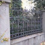 Dawne ogrodzenie Radomszczańskiej Wielkiej Synagogi