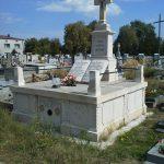 Grób rodziny Brylów na cmentarzu w Kobielach Wielkich
