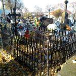 Grób Marcina Ziółkowskiego i Adolfa Zawadzkiego na Cmentarzu Starym w Radomsku