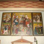 Tryptyk w kościele Św. Rocha w Radomsku