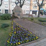Radomsko. Obelisk upamiętniający 200 rocznicę uchwalenia Konstytucji 3 Maja
