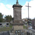 Grób rodziny Buczyńskich na cmentarzu w Gidlach