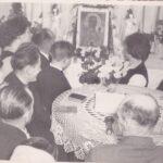 Nawiedzenie obrazu Matki Boskiej Częstochowskiej w parafii Dobryszyce (1979 r.)
